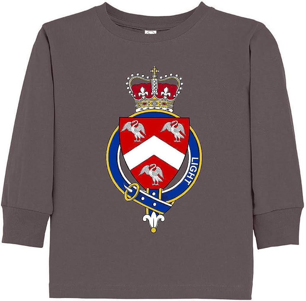 Tenacitee Toddlers English Garter Family Light Long Sleeve T-Shirt