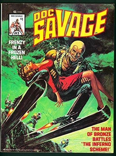 Doc Savage Man of Bronze Magazine #3 VF/NM 9.0