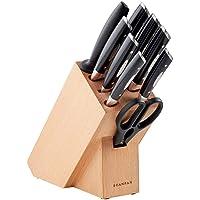 Scanpan Classic Knife Block Set, Black, 18189