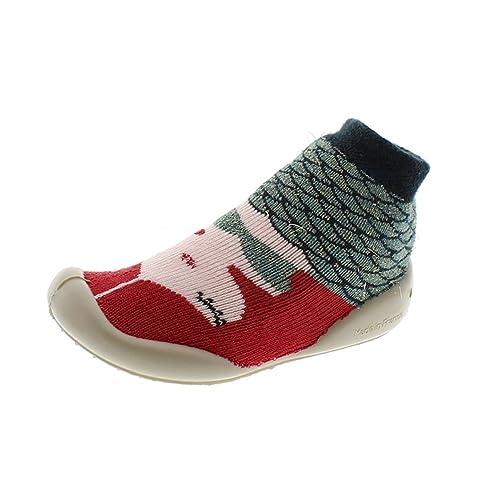 Zapatos Niña Zapatillas Casa Collegien 832a Multi Rosas 18I19: Amazon.es: Zapatos y complementos