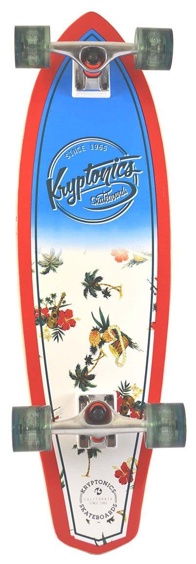 Kryptonics SKKRMAU32600000 California Series Skateboard Multicolore 32