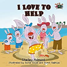 I Love to Help (I Love to...Bedtime stories children's books collection)