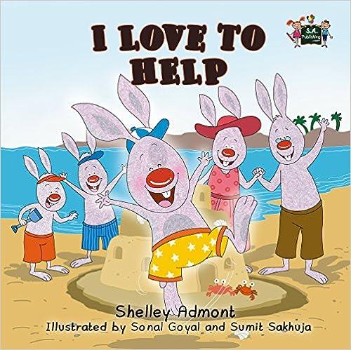 I Love to Help (books for kids ,rabbit kids book,bedtime