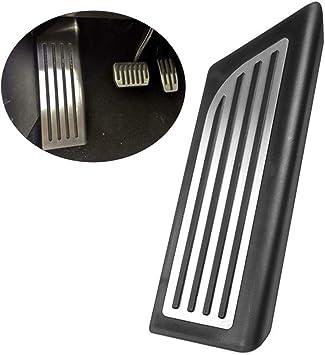 RENHAIGY Tesla Model S Model X Performance Foot Pedal Pads Set Aluminum Non-Slip Accelerator Pedals Covers A Set of 2