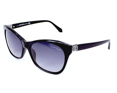Amazon.com: Roberto Cavalli RC730S Asud 01B - Gafas de sol ...