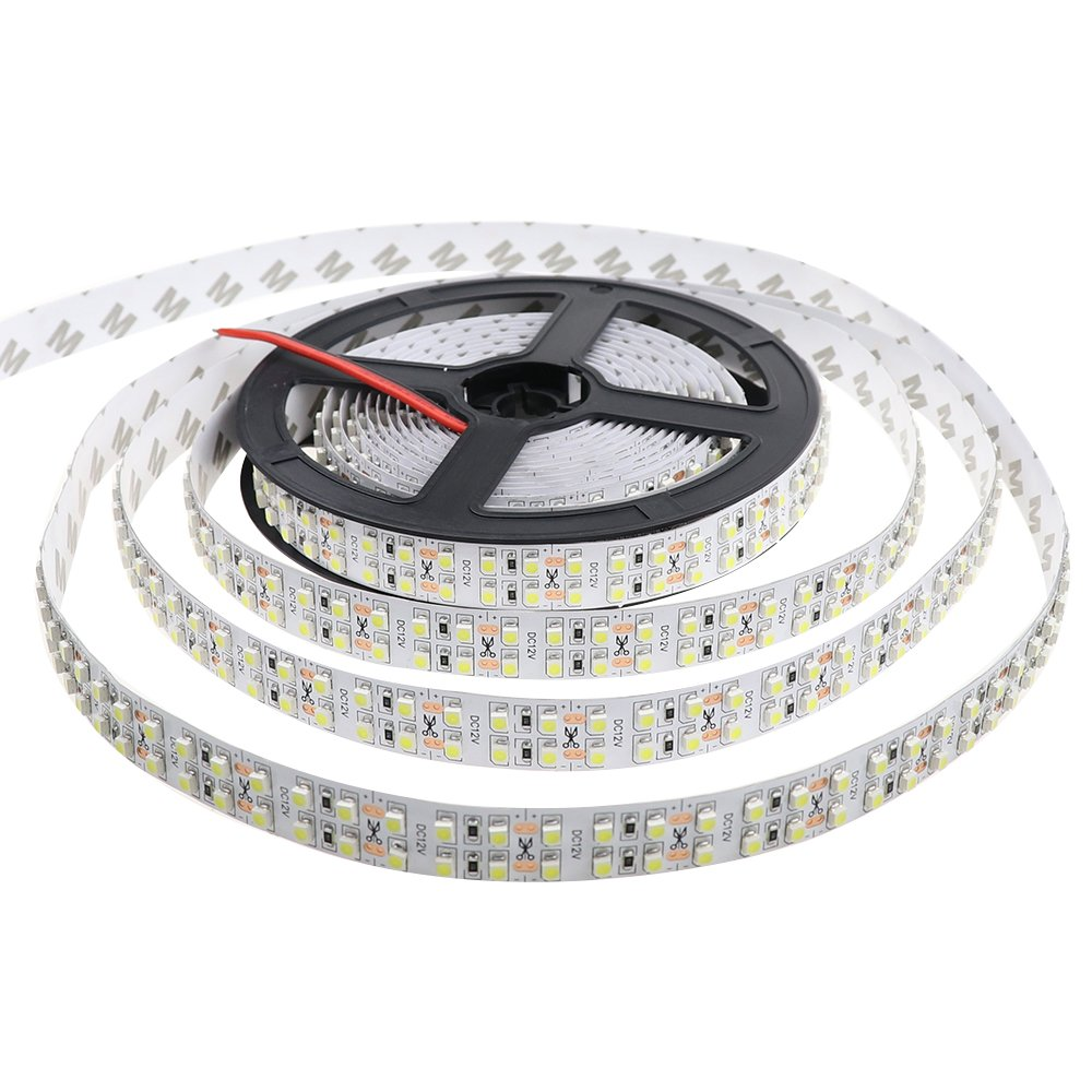 Ledenet Cold White 5m Double Row 3528 Smd 1200leds Extension Wire Connector Cable Cord For 5050 Rgb Led Strip Ebay Flexible Tape Light 240leds M Ribbon Lamp Dc 12v 164ft Home