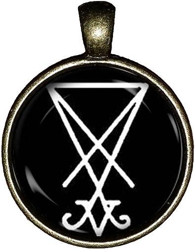Chaoticfashion Lucifer Symbole Collier satanique Cadeau Bijoux ...