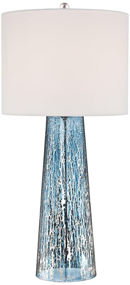 Marcus Mercury Glass Tapered Column Table Lamp Amazon Com