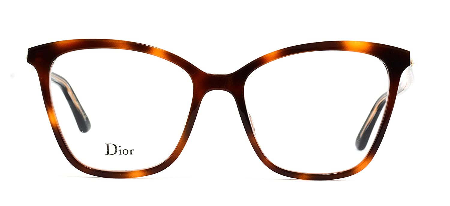 92f2344b41a Eyeglasses Dior Montaigne 46 Color 58 Cateye Size 52 17 145 at Amazon  Women s Clothing store