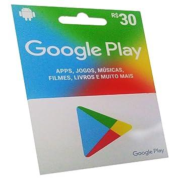 Carto pr pago google play 30 reais amazon eletrnicos carto pr pago google play 30 reais reheart Images
