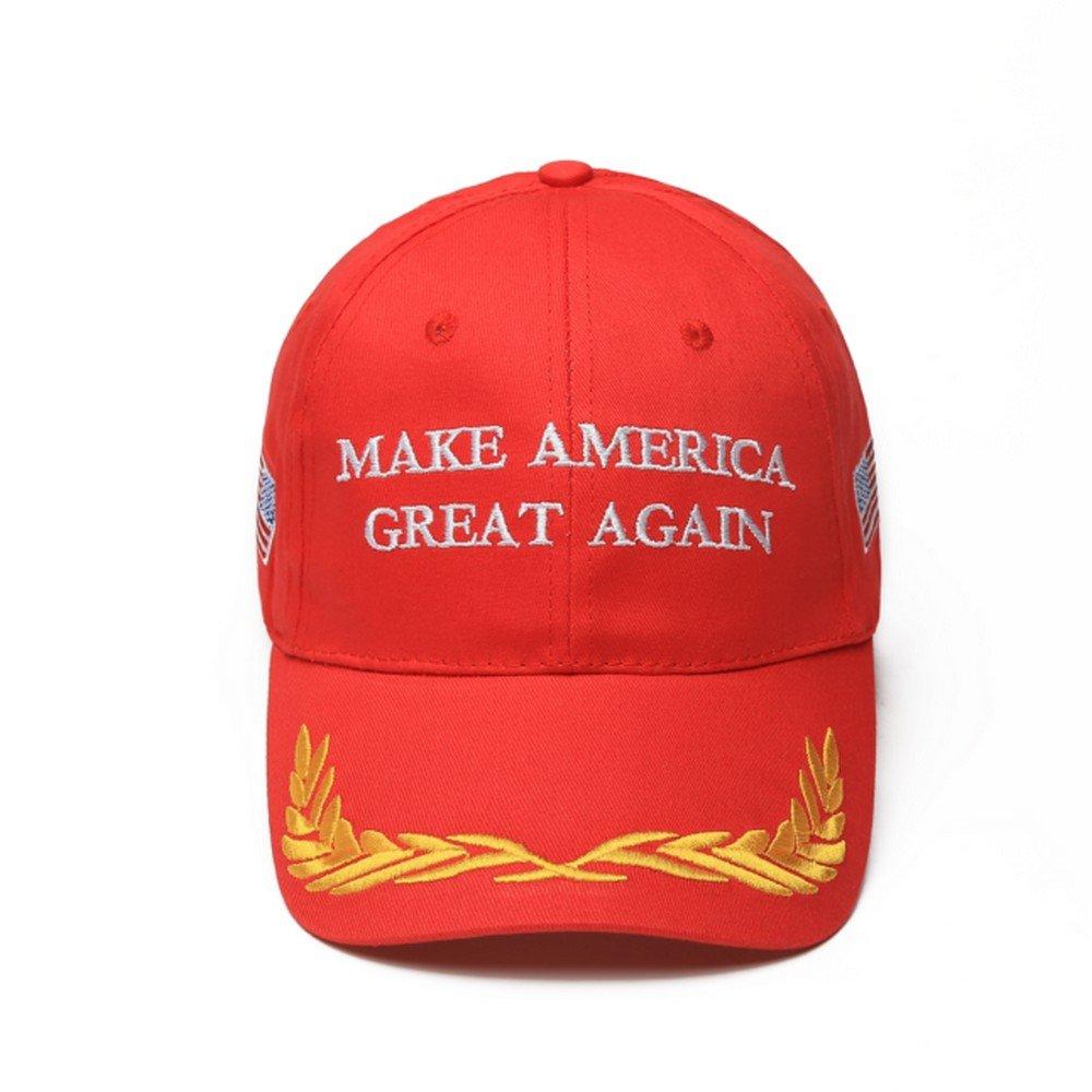 Casquette de baseball unisexe CATOP Slogan de la campagne pr/ésidentielle de Donald Trump /« Make America Great Again /»