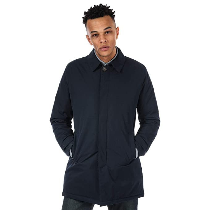 various styles hoard as a rare commodity biggest discount Original Penguin Mens Padded Hooded Mac Jackets Navy/Khaki ...
