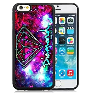 High Quality Iphone 6 Case Design with Diamond Supply Co Cell Phone Black Case for Iphone 6th 4.7 Inch