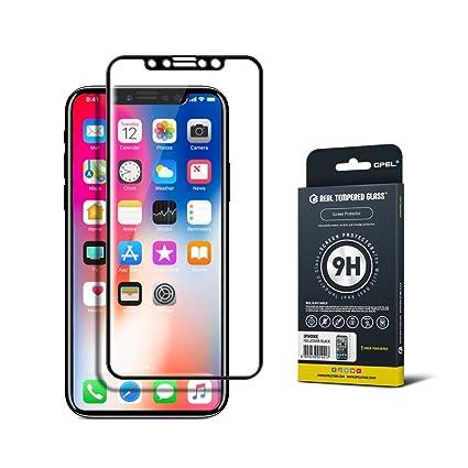 IPhone X 10 Screen Protector Full Cover Case Friendly GPEL Japanese Asahi 9H