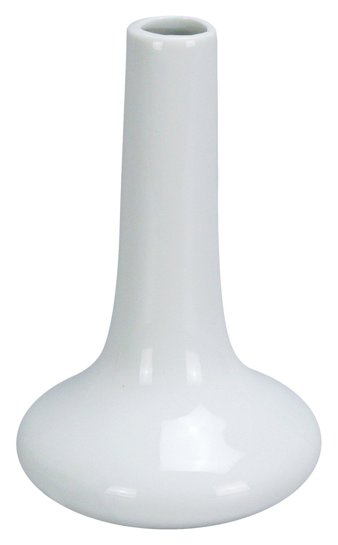 Yanco BV-1 Bud Vase, 6'' Height, Porcelain, Super White Color, Pack of 36