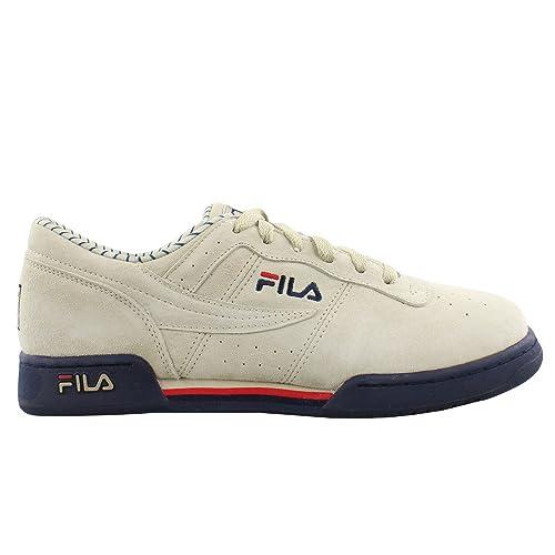 pretty nice da2f3 b053d Fila Men s Original Fitness PS Fila Cream Fila Navy Fila Red 7 ...