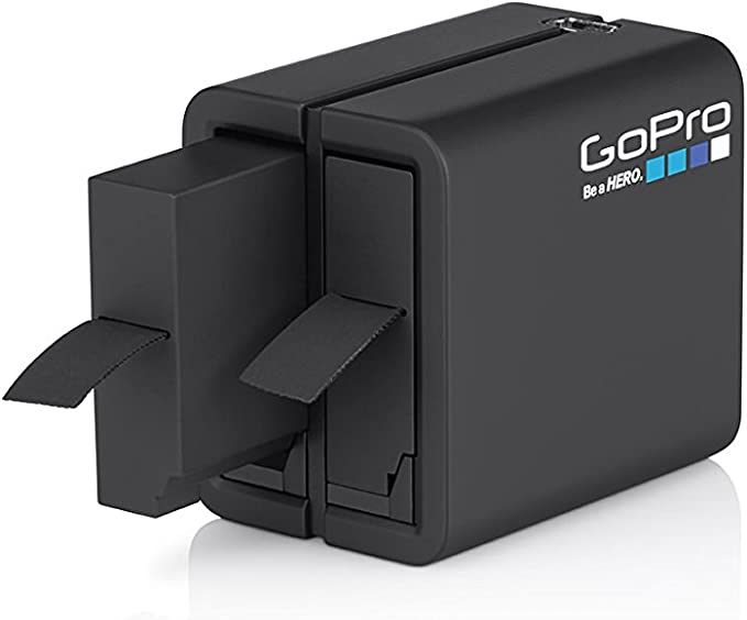 4packs Durapro Batteries AHDBT-401/ LCD Double Chargeur USB pour GoPro 4/Batterie GoPro Hero 4/Noir//Argent Camera Batteries 4Pcs Gopro 4 Replacement Battery LCD USB Charger 1500/mAh
