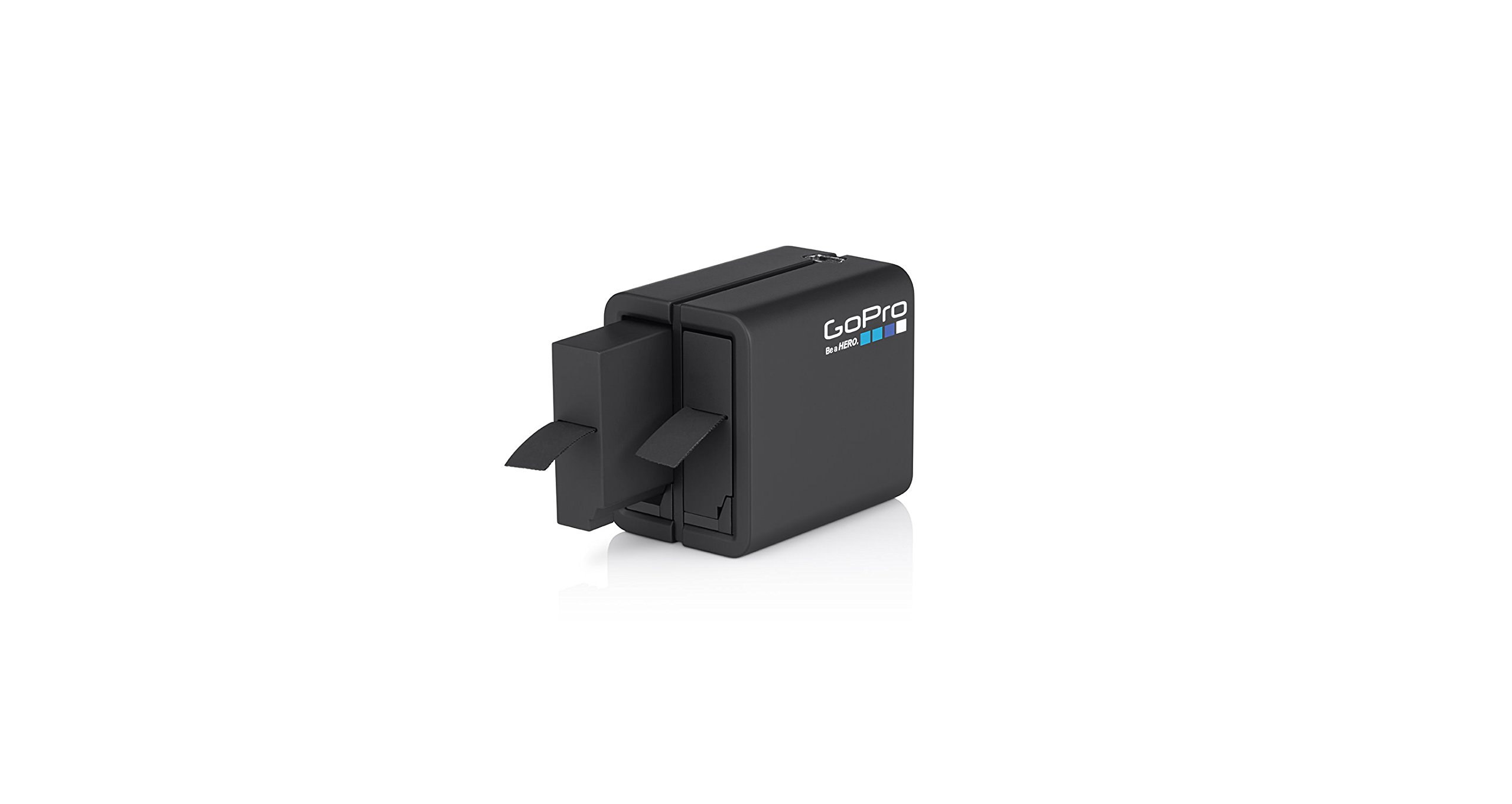 GoPro Dual Battery Charger + Battery (for HERO4 Black/HERO4 Silver) (GoPro OFFICIAL ACCESSORY) by GoPro
