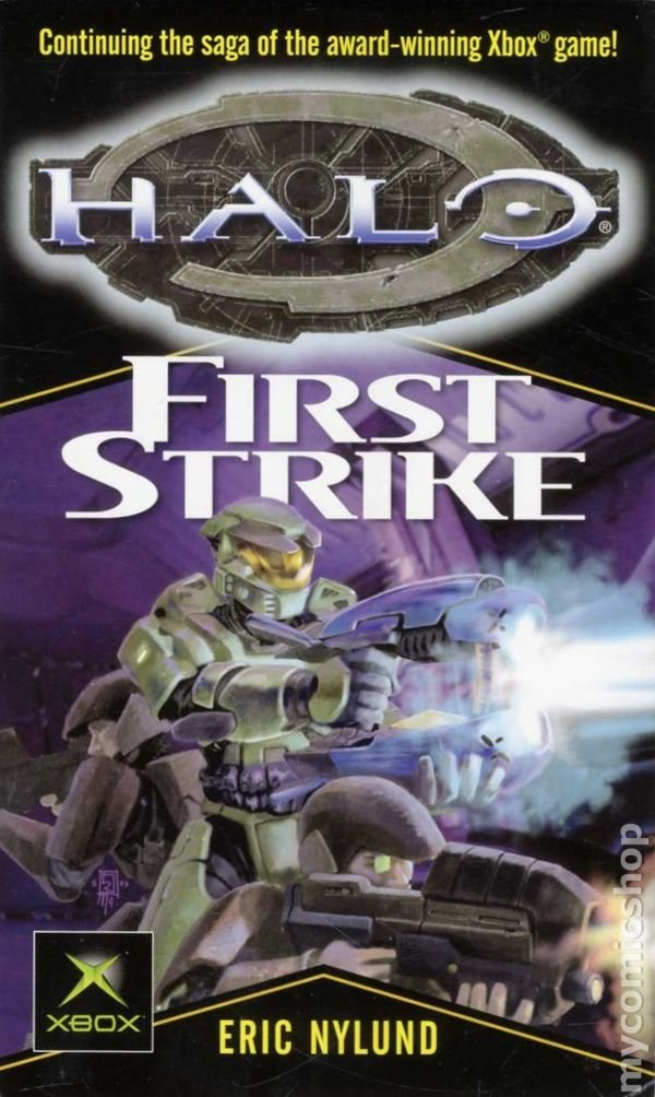 Read Online First Strike (Halo #3) 1st (first) edition Text Only pdf