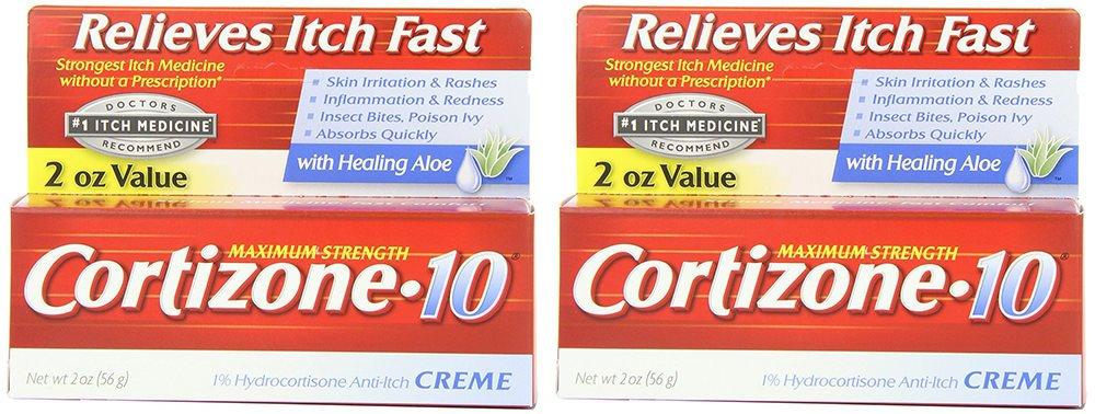 Cortizone-10 Max Strength Cortizone-10 Crme, 2 Ounce by Cortizone 10