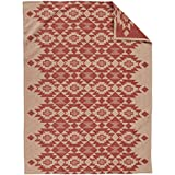 Pendleton Yuma Star Clay Organic Cotton Twin Blanket