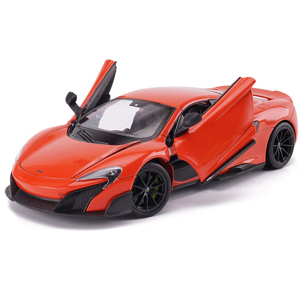 orange Model car Car Model 1 24 McLaren Super Sports Car Alloy Collectibles Holiday Gift Decoration Toy (color   GREEN)