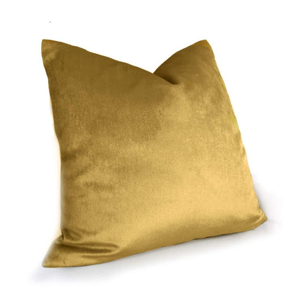 Cuscino del Divano Cuscino in Seta Lucida di Lusso Cuscino in Bronzo Dorato Cuscino Guanciale in Vita 30X50Cm