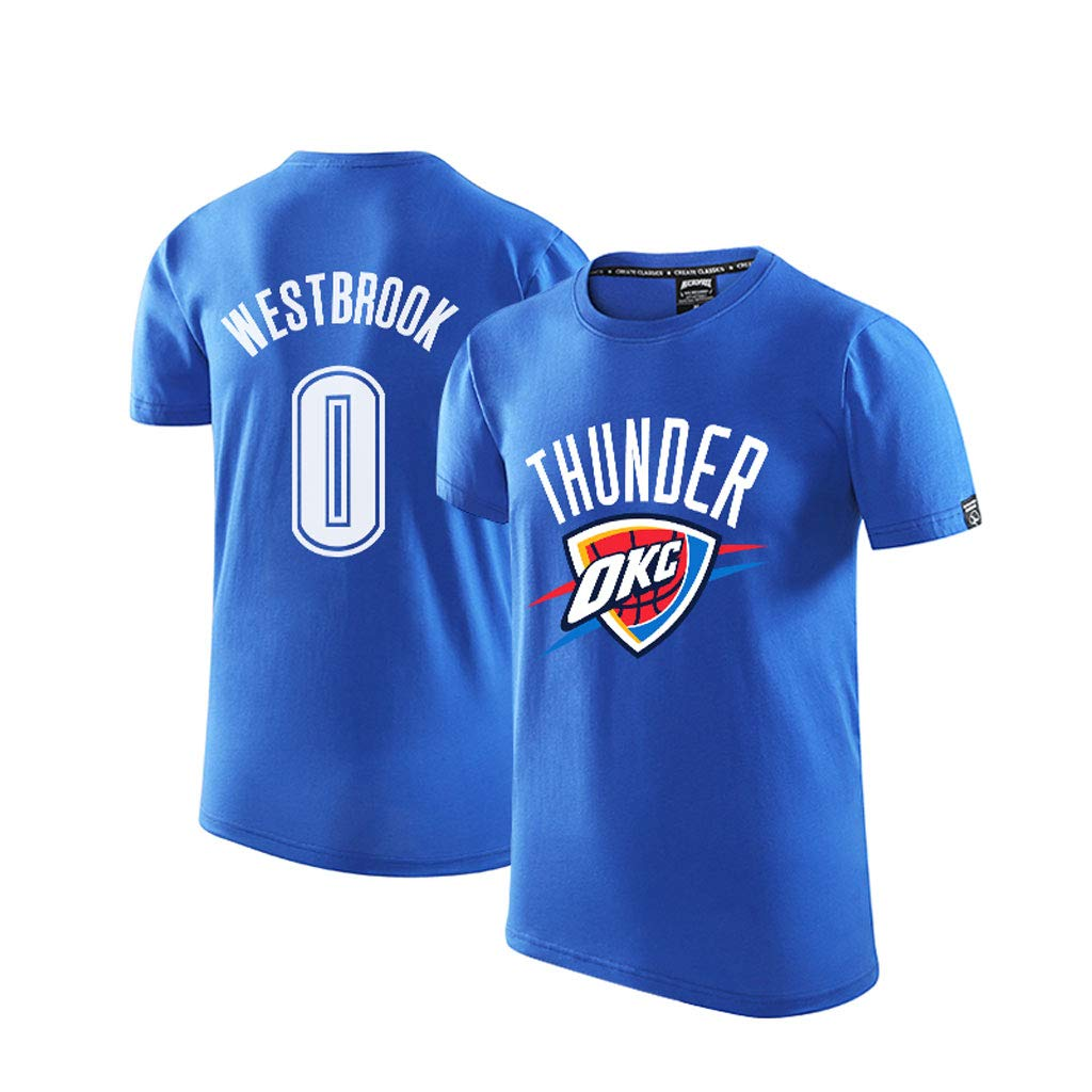 Oklahoma City Thunder T-shirts Russell Westbrook Camiseta Hombres ...
