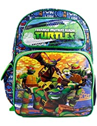 Full Size Blue Ready for Battle Teenage Mutant Ninja Turtles Backpack