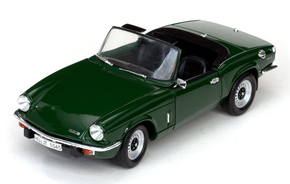 Buy 1970 Triumph Spitfire Mk Iv Convertible, Green 1:18 Scale Online ...