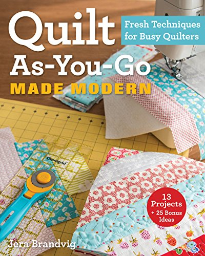 quilt as you go books - 2