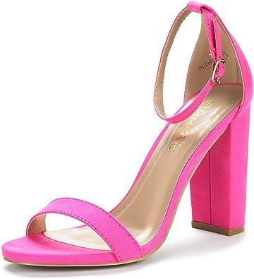 DREAM PAIRS Womens Show High Heel Dress Pump Sandals