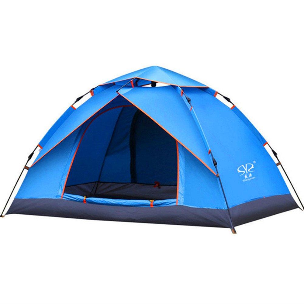 QAR Automatisches Zelt Im Freien 3-4 Leute Familiendoppeltes 2 Leute Regnen Wildes Kampierendes Antreibendes Tourismuszelt Zelt