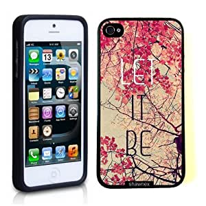 Iphone 5 5S Case Thinshell Case Protective Iphone 5 5S Case Shawnex Let It Be Pink Trees