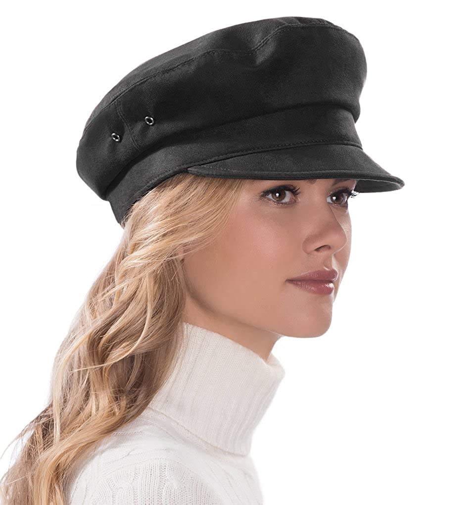 Eric Javits Luxury Fashion Designer Women s Headwear Hat - Night Porter -  Black at Amazon Women s Clothing store  b91b9814788