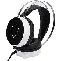 Queen.Y Gaming Hoofdtelefoon PS4 ruisonderdrukking Microfoon Kleurrijk ademhalingslicht Head-mounted met…