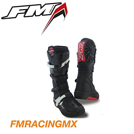 9208edc793 STIVALI STIVALE THUNDER II NERO MX CROSS ENDURO QUAD ATV FM RACING - TAGLIA  44