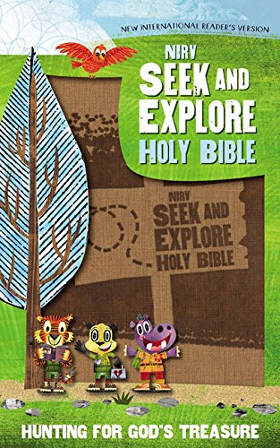 !BEST NIrV, Seek and Explore Holy Bible, Leathersoft, Tan: Hunting for God's Treasure<br />E.P.U.B