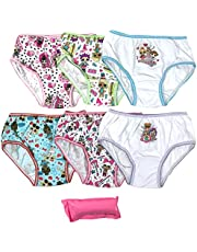 Handcraft Girls GUP5712 7-Pack LOL Surprise Underwear Panty Underwear - Multi