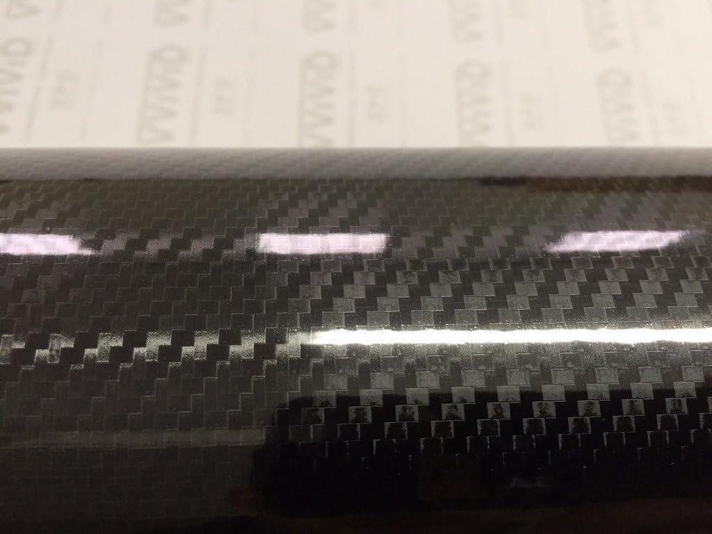 Red, 2ft x 5ft VViViD Epoxy High Gloss Carbon Fiber Automotive Vinyl Wrap