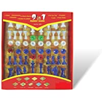 Toyzone 9 in 1 Family Games, Red