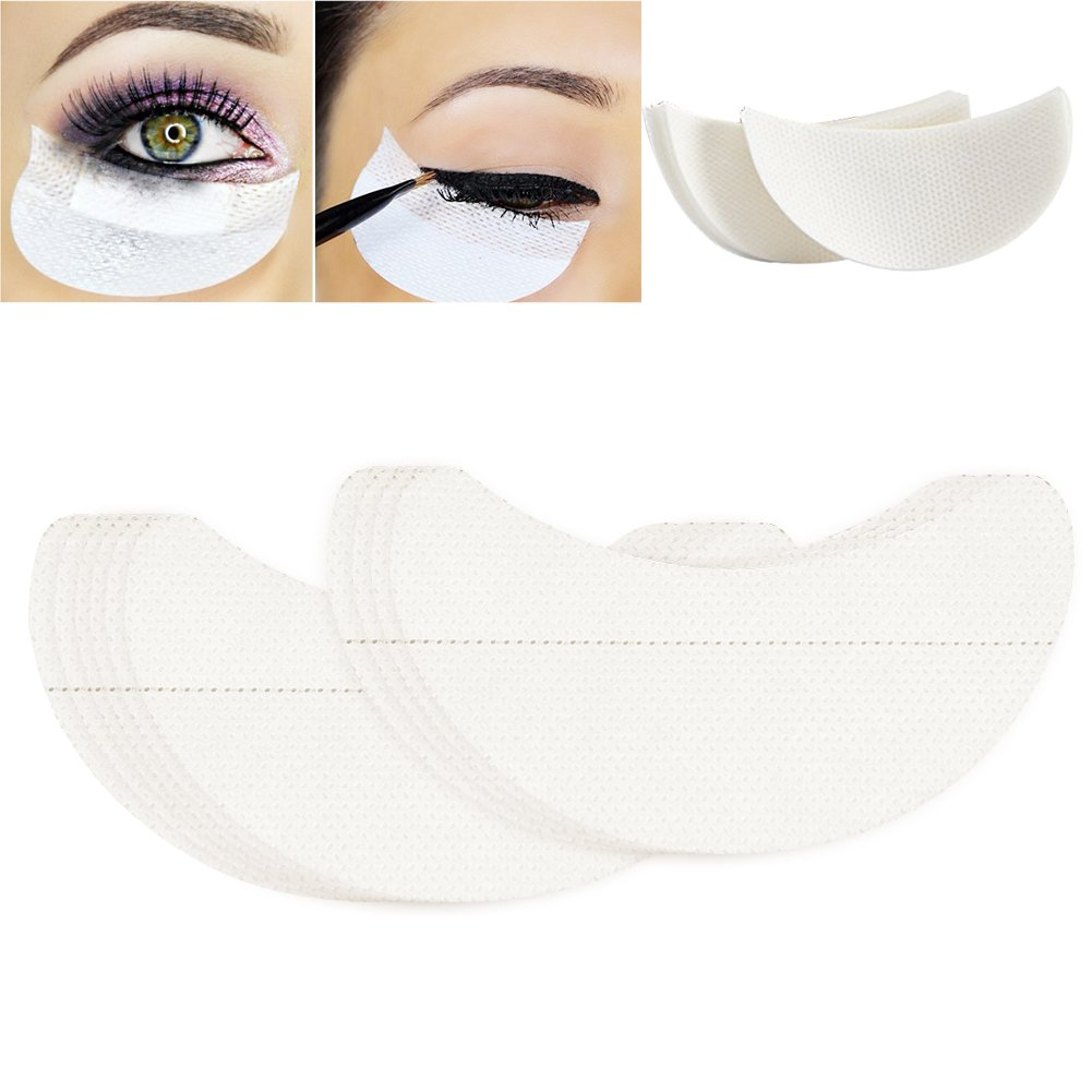 White Under Eye Patches Eye Shadow Cover Protector Stickers Makeup Supplies Zerone