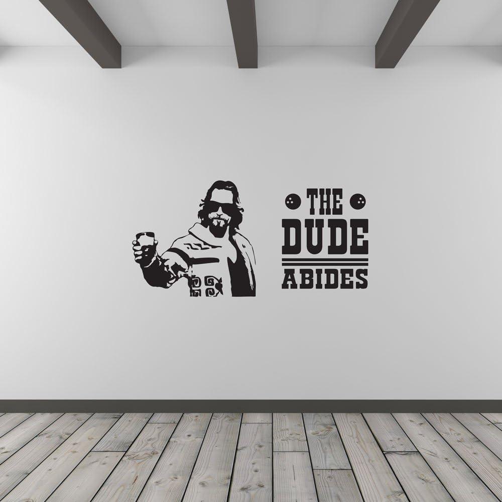 The Dude Abides Vinyl Wall Art Decal