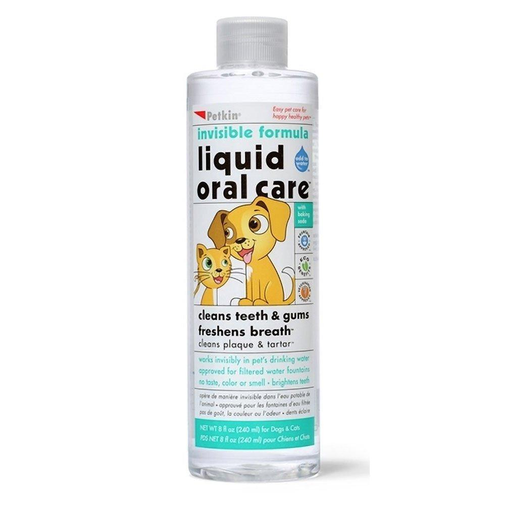 Petkin Pet Liquid Oral Care 8 oz (Pack Of 6)