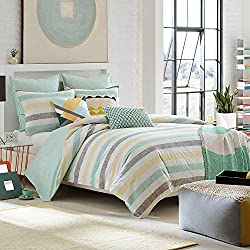 KAS ROOM Greta King Duvet Cover, Multi Color