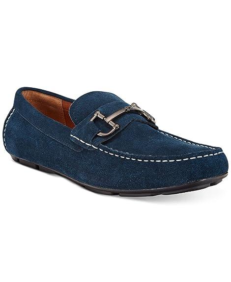 Alfani - Mocasines para Hombre Gris Gris: Amazon.es: Zapatos y complementos