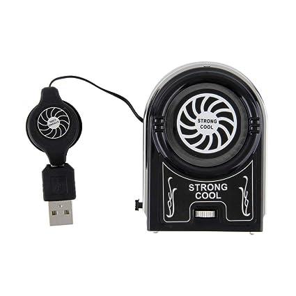 Formulaone Mini Aspirador USB Enfriador de Aire Ventilador de Enfriamiento Enfriador Pad Soporte para Notebook Accesorios