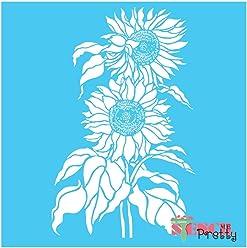 Standard Brilliant Blue Color Material Cattail Leaves Corn Dog Grass Stencil-XS 4.5 x 11