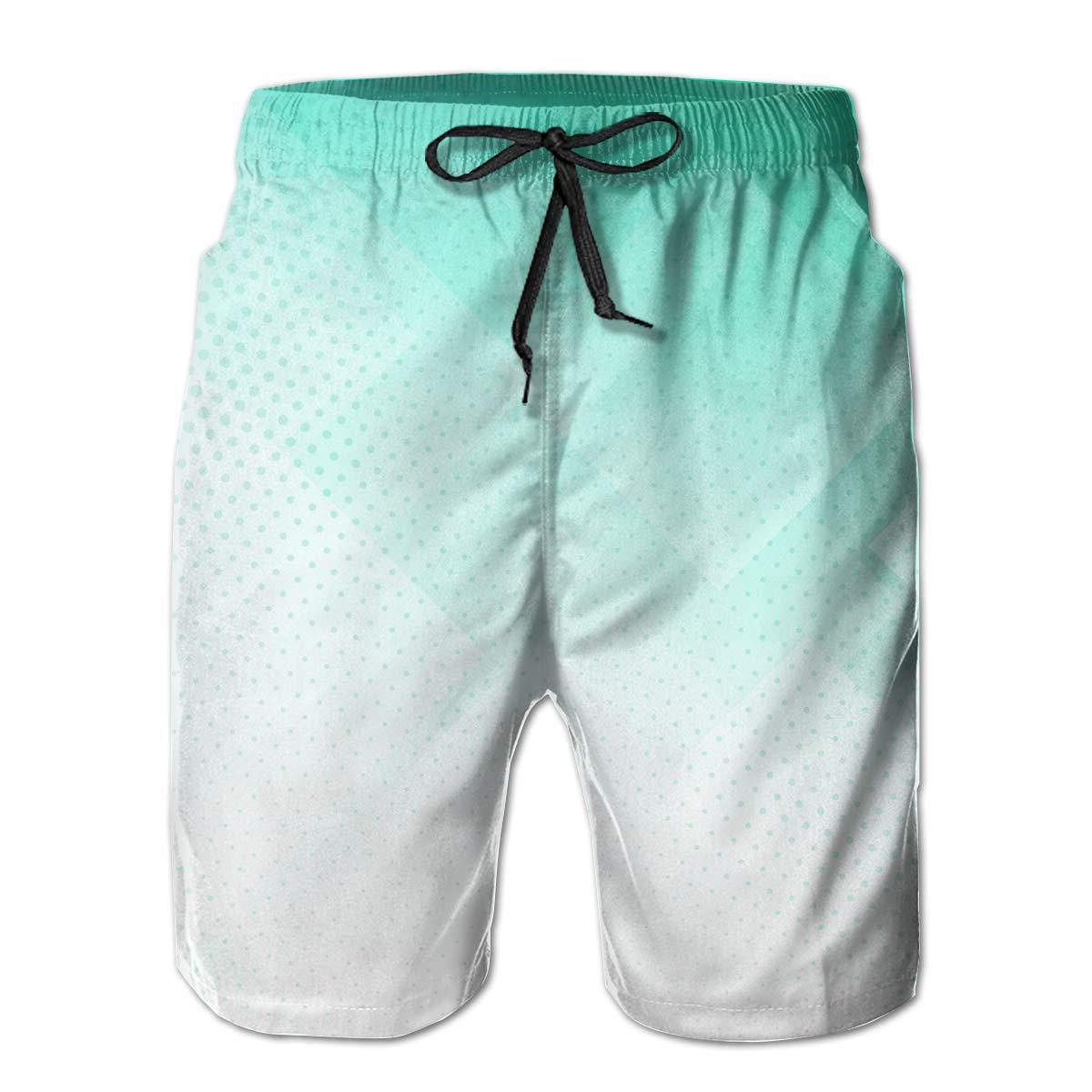 UHT28DG Abstract Design Pattern Dirt Bike Motocross Mens Lightweight Beach Board Shorts Quick Dry Pockets Bathing Suit