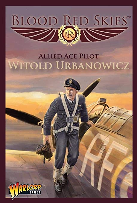 Blood Red Skies Allied Ace Pilot Witold Urbanowicz 1:200